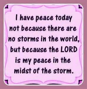 Image result for Picture God's peace after a storm
